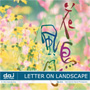 DAJ 211 LETTER ON LANDSCAPE