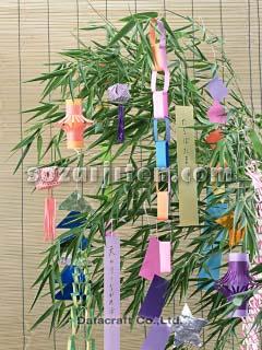 七夕飾り - CU053.JPG - 写真素材 : 七夕 笹飾り 作り方 : 七夕