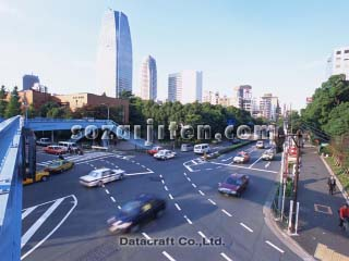 交通と町並