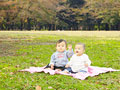 公園の赤ちゃん