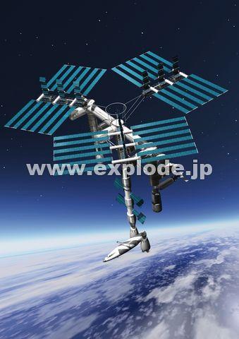 宇宙ステーション ▼この写真素材が収録されている素材集  宇宙ステーション