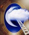 宇宙に伸びるはしご