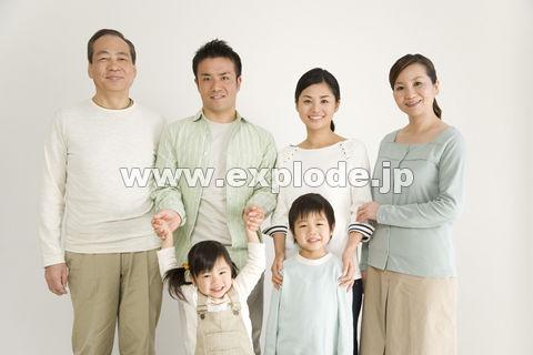 笑顔の家族 - da-414003.jpg - 写真 ... : 日本地図 幼児 : 幼児