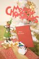 プレゼントとクリスマスカード