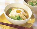 春キャベツと卵の味噌汁