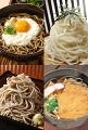 麺の集合イメージ・コラージュ