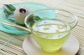 冷緑茶と和菓子