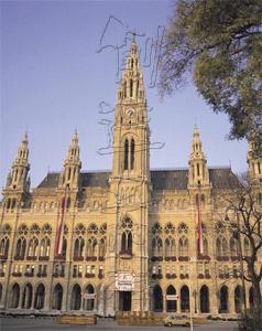 ウィーンの市庁舎