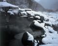 新穂高温泉の露天風呂(岐阜県)