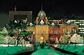 冬の北海道庁の夜景