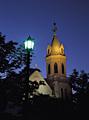 夜の元町カトリック教会