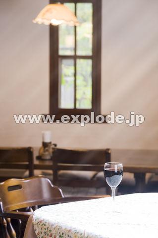 ペンションの食堂