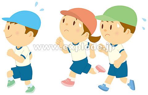 48 幼稚園 保育園 マラソン を ... : 幼稚園児 イラスト : イラスト