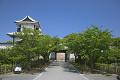 緑と石川門