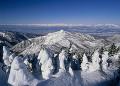 雪景色 横手山山頂