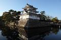 高松城  艮櫓と内堀