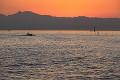 有明海の夕景