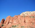 北米 アメリカの砂漠 モニュメントバレー アリゾナ州 奇岩 晴れ