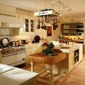 部屋 テーブル キッチン シンク