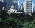 02:旧香港督憲府 セントラル地区 ビル 緑