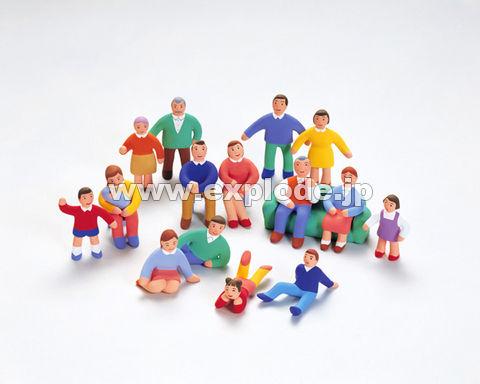 08:人形 家族