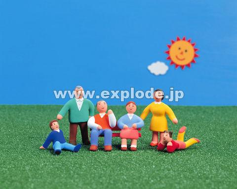 23:人形 家族 太陽