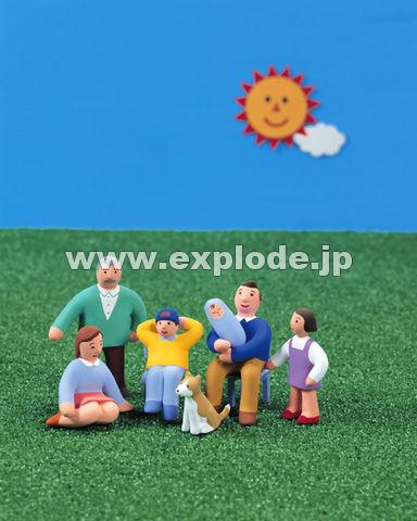 24:人形 家族 太陽