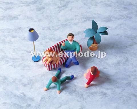 30:人形 家族 インテリア