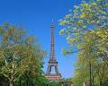 002:フランス  パリ エッフェル塔
