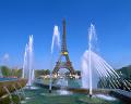 004:フランス  パリ エッフェル塔