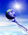 001:地球 手 太陽 青