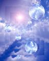 003:空 雲 太陽 球体 青