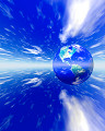 004:空 地球 青