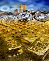 金塊 コイン マンハッタン