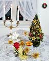 クリスマスツリー プレゼント キャンドル リース