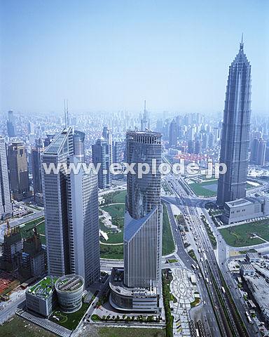 016: 上海 浦東地区 東方明珠より
