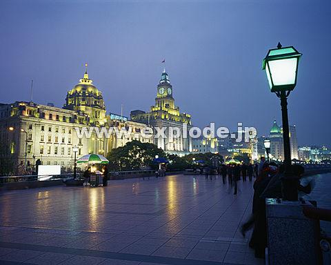 039: 上海 外灘(バ ンド ワイタン) 夕景