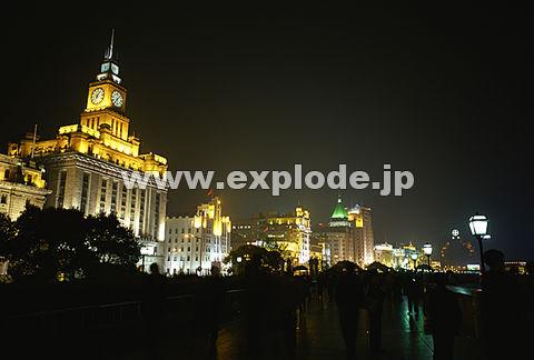 041: 上海 外灘(バ ンド ワイタン) 夜
