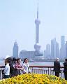 003: 上海 東方明珠 外灘(バ ンド ワイタン)より