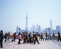006: 上海 東方明珠 浦東地区 外灘(バ ンド ワイタン)より