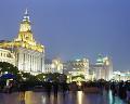 040: 上海 外灘(バ ンド ワイタン) 夜