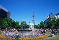 002: 札幌 大通公園 さっぽろテレビ塔 夏