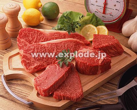 015: 焼肉 精肉 牛ステーキ用集合