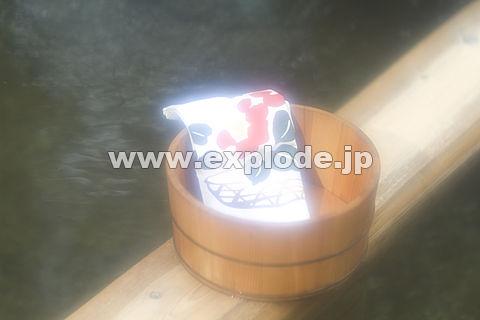 004: 山中温泉 石川県 桶 手拭