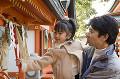 056:神社に初詣 父と娘