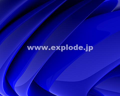 005:CG 青 ドレープ