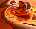 004:CG オレンジ 波紋